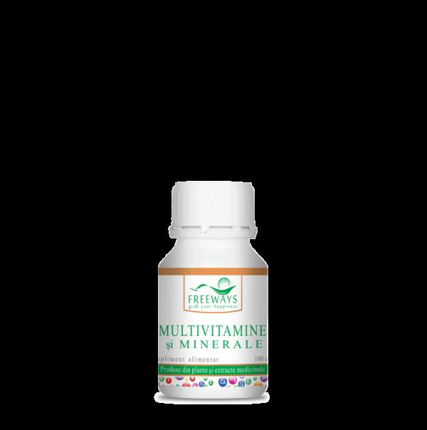 Multivitamine si minerale - 180 cps